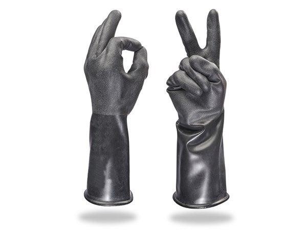Posebne rokavice iz butila
