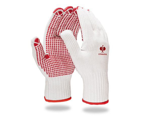 "PVC-pletene rokavice ""Red-Point"""