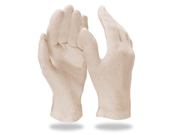 Rokavice iz trikoja, naravne, 12-delno