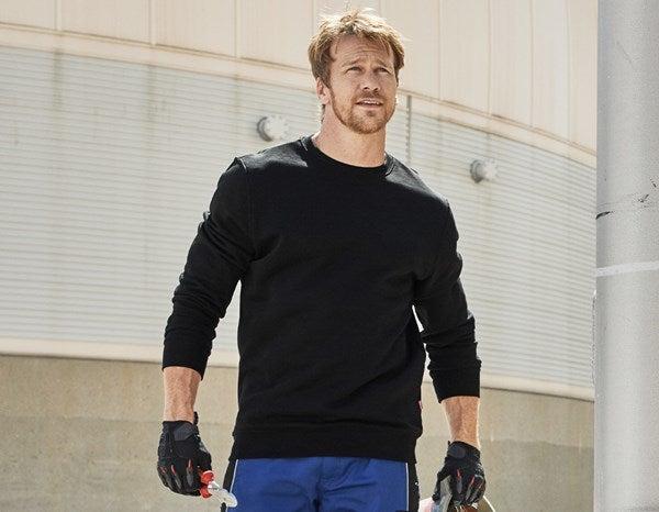 e.s. Športna majica poly cotton črna,1.png   XS,za običajne postave