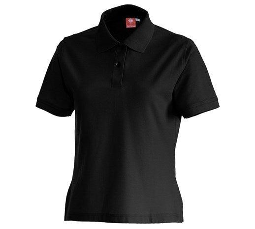 e.s. Ženska polo majica cotton črna,1.png | XS,za običajne postave