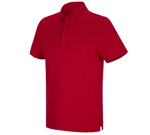 e.s. funkcijska polo majica  poly cotton
