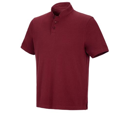 e.s. polo majica  cotton Mandarin