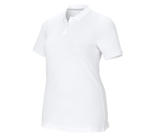 e.s. Ženska polo majica piqué cotton stretch, plus