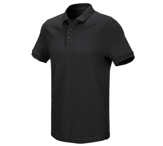 e.s. Polo majica piqué cotton stretch