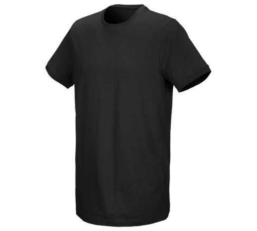 e.s. Kratka majica cotton stretch, long fit