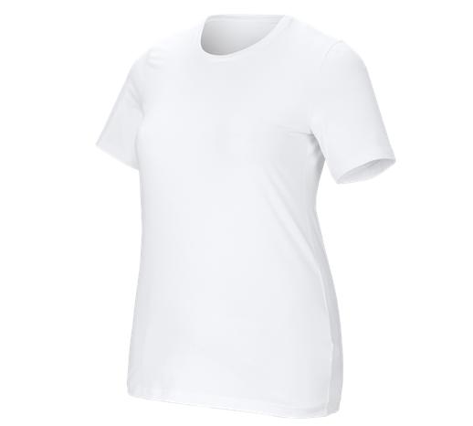 e.s. Ženska kratka maj. cotton stretch, plus fit