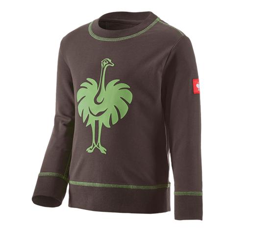 Otroška športna majica e.s.motion 2020, otroci kostanj/jezersko zelena,766.png | 98/104,normal