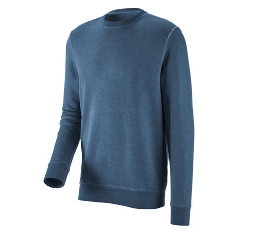 e.s. Športna majica vintage poly cotton antično modra vintage,1216.png | S,za običajne postave