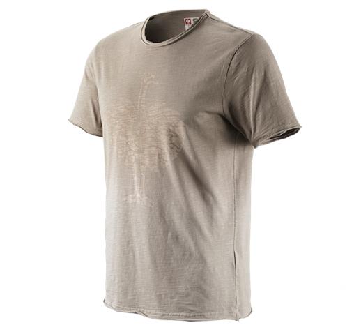 e.s. majica workwear ostrich sivo rjava vintage,1211.png | S,za običajne postave