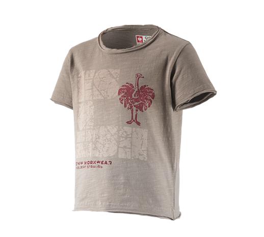 e.s. otroška majica denim workwear sivo rjava vintage,1211.png | 98/104,normal