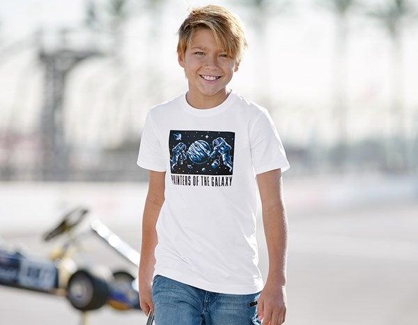 Otroška kratka majica e.s. Mission 2020 bela,2.png | 98/104,normal