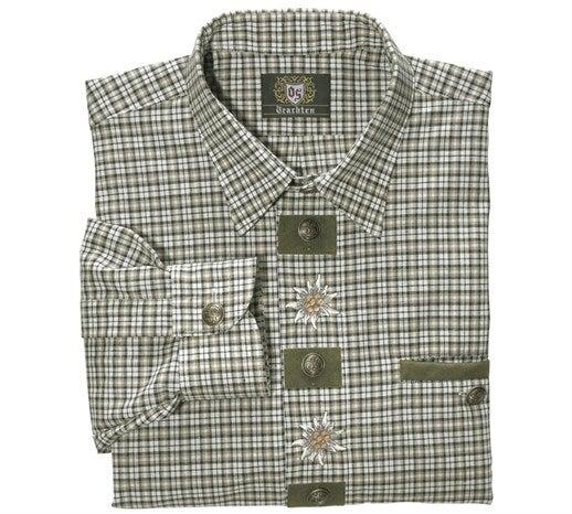 Lovska srajca planika zelena/bela,25.png | M,normal