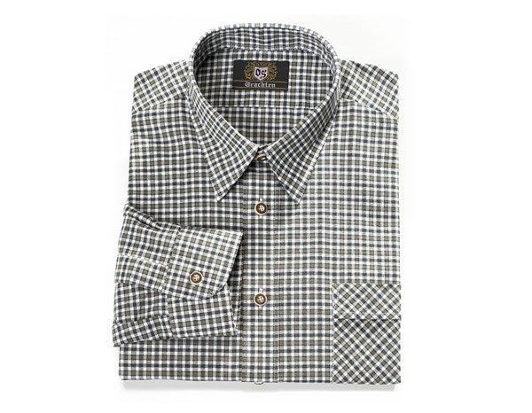 Traditional shirt Karo zelena/bela,25.png | M,normal