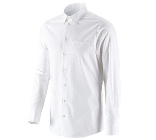 e.s. Poslovna srajca cotton stretch, slim fit