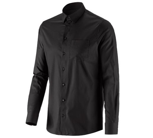 e.s. Poslovna srajca cotton stretch, regular fit