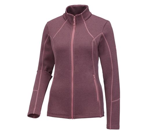 e.s. funkcijska športna jakna melange, dame pastelno roza melanž,980.png | XS,za običajne postave