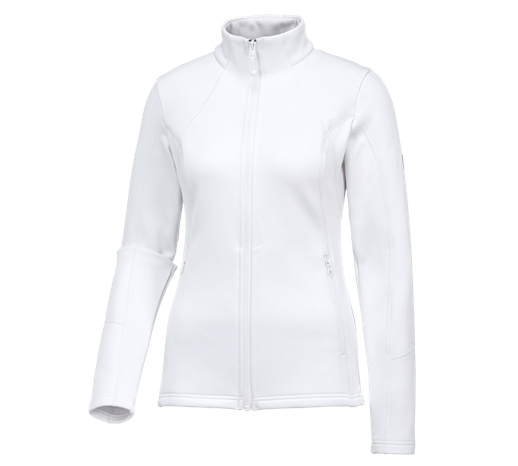 e.s. funkcijska športna jakna melange, dame