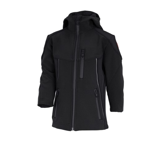 Otroška jakna Softshell e.s.vision črna,1.png | 98/104,normal