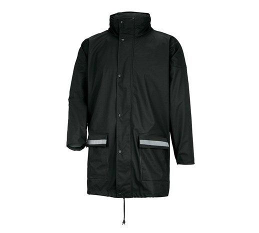 Dežna jakna Flexi-Stretch črna,1.png   S,za običajne postave