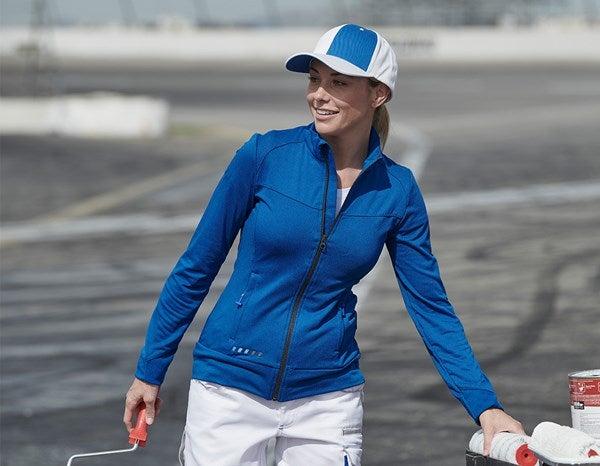 Ženska jakna FIBERTWIN® clima-pro e.s.motion 2020 encian modra/grafit,755.png | XS,za običajne postave