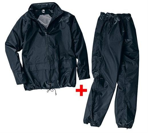 Komplet dežna jakna/hlače črna,1.png | S,za običajne postave