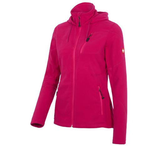 Ženska jakna iz flisa s kapuco  e.s.motion 2020