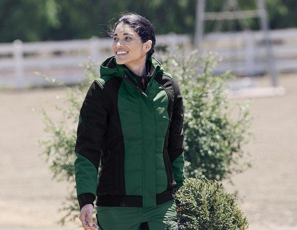 Ženska zimska jakna Softshell e.s.vision zelena/črna,50.png   XS,za običajne postave