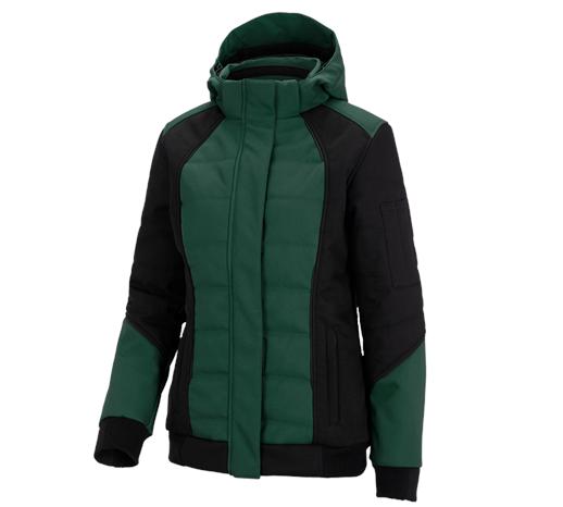 Ženska zimska jakna Softshell e.s.vision zelena/črna,50.png | XS,za običajne postave