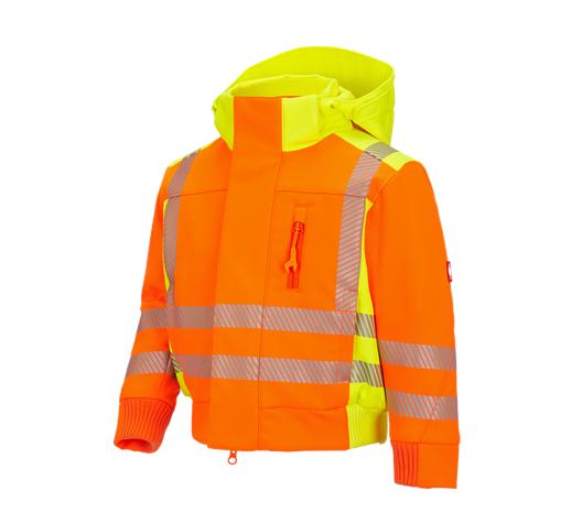 Otroška zašč. zim.jakna Softshell e.s.motion 2020