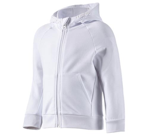 e.s. športna jakna s kapuco cotton stretch otroška