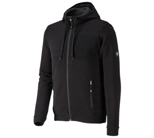 Pletena jakna s kapuco Windbreaker e.s.motion ten