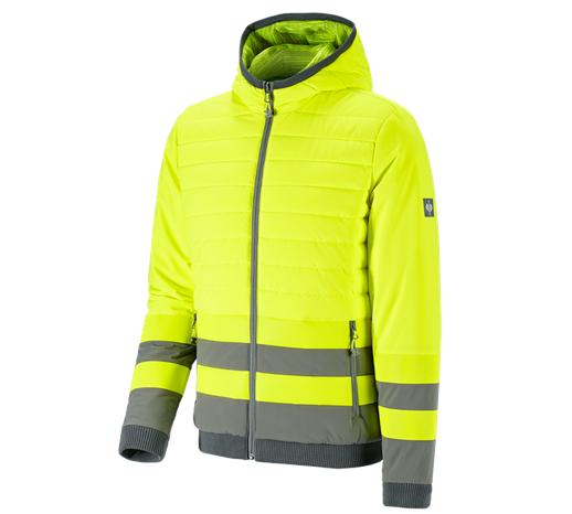 Opozorilna zaščitna obojestr. jakna e.s.motion ten