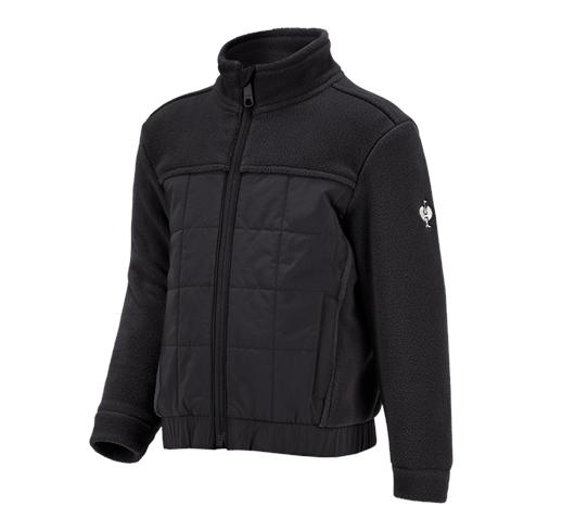 Otroška Hibridna jakna iz flisa e.s.concrete