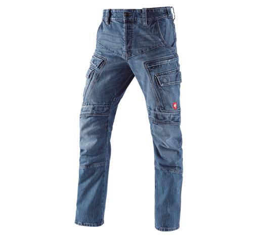 e.s. kargo delovne jeans hlače POWERdenim