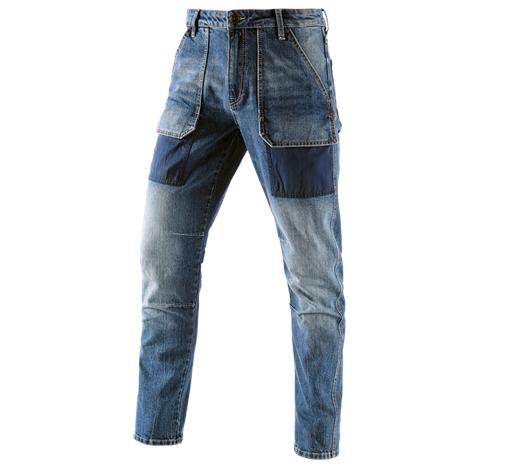 e.s. jeans hlače s 7 žepi POWERdenim