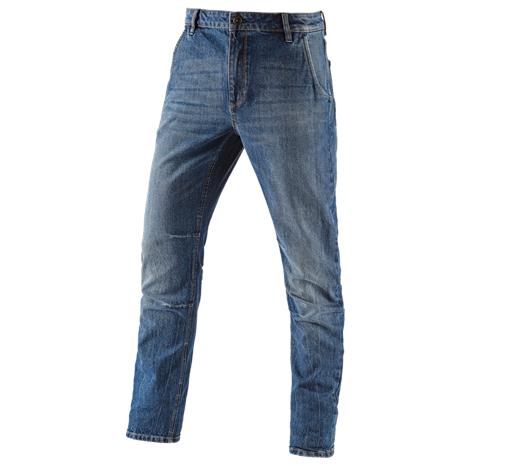 e.s. jeans hlače s 5 žepi POWERdenim
