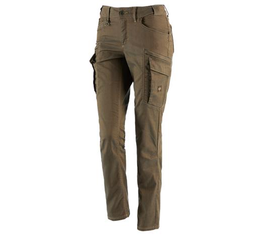 Ženske raztegljive kargo hlače e.s.vintage