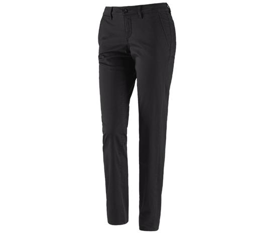 e.s. poklicne hlače s 5 žepi Chino, ženske