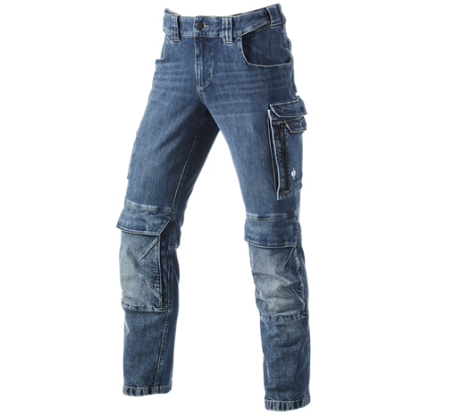 Kargo delovne jeans hlače e.s.concrete