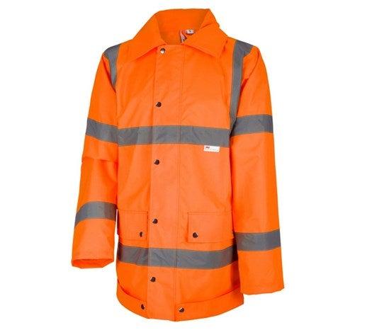 Opozorilna zaščitna dežna jakna