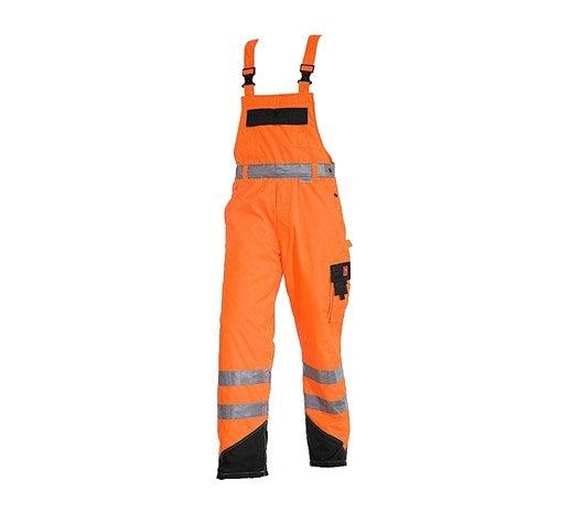 Opozorilne termo hlače z oprsnikom  e.s.image opozorilno oranžna,818.png | S,normal