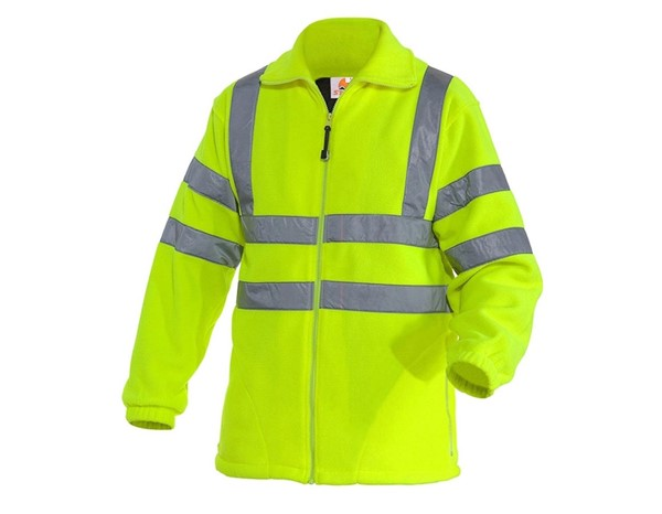 Opozorilna zaščitna jakna Fleece