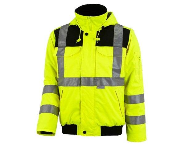 Opozorilna pilotska jakna  e.s.image opozorilno rumena,699.png | XS,za običajne postave