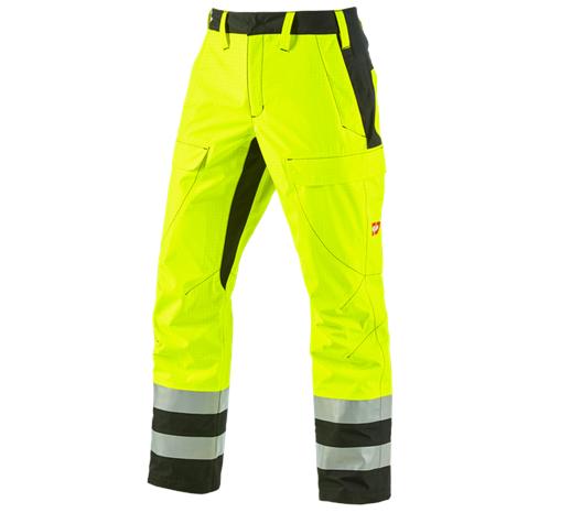 e.s. vremenske zaščitne hlače multinorm high-vis
