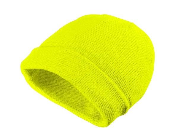 Zimska pletena kapa Neon rumena,9.png