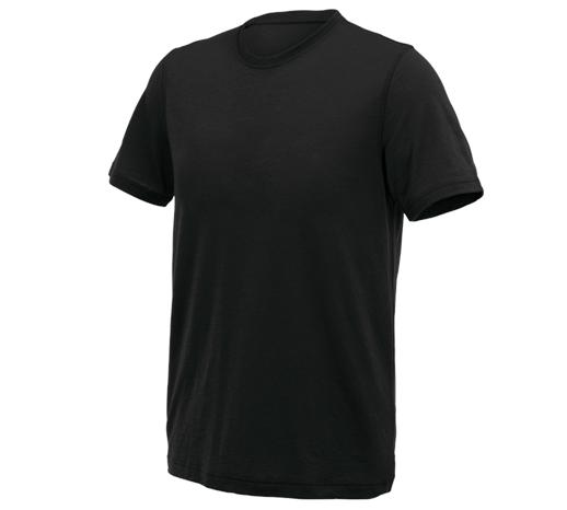 e.s. kratka majica Merino light
