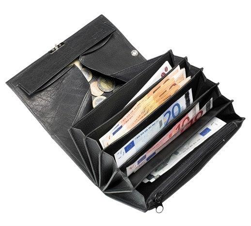 Natakarska denarnica s prozornim okencem