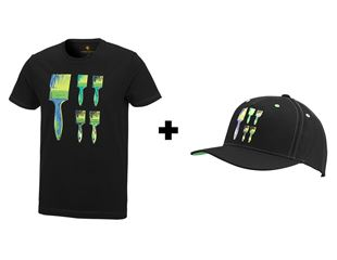 Aktion: e.s.T-Shirt Pop Art+GRATIS Cap