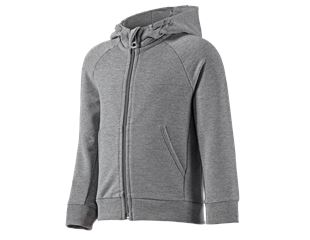 e.s Hoody-Sweatjacke cotton stretch, Kinder